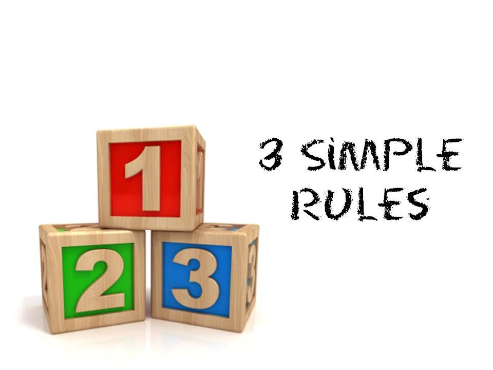 三个简单的规则
